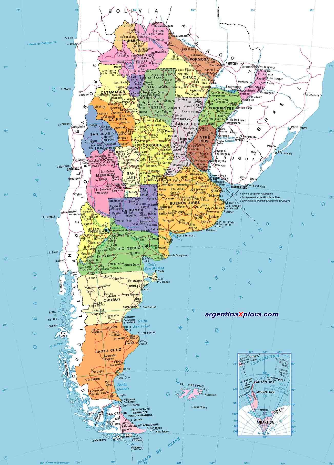 de Argentina   División Política