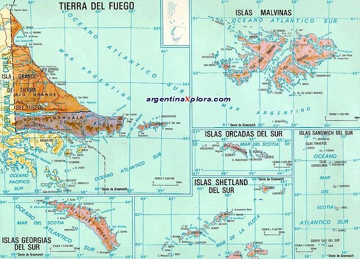 Eco Sistema De Las Islas Del Atlantico Sur Islas Malvinas Ecorregion